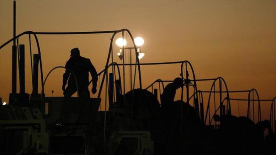 Atacan convoy de EEUU que llevaba piezas para helicópteros en Irak | HISPANTV