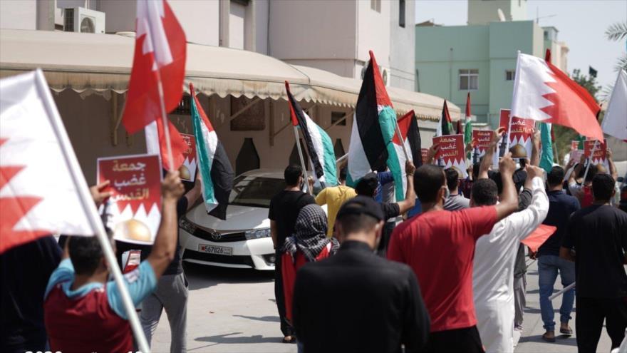 """Bareiníes rechazan nexos con Israel en """"viernes de ira de Al-Quds"""""""
