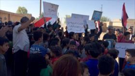 Sirios repudian la ocupación de su país por EEUU y Turquía