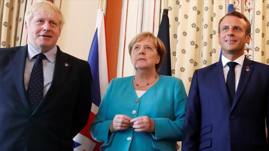 Troika europea no cederá ante EEUU e insta al alivio de sanciones antiraníes