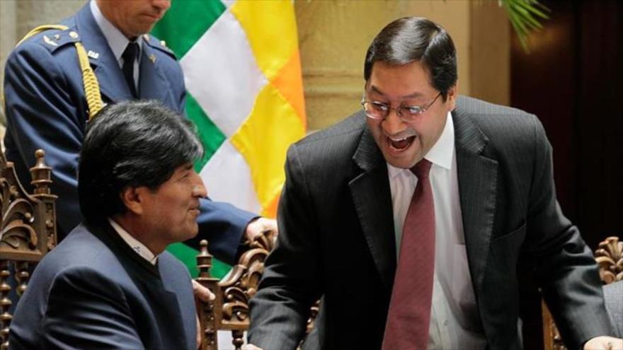 Evo Morales promete retonar a Bolivia, si el MAS gana las elecciones