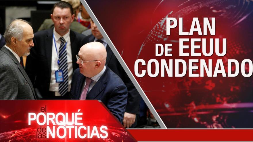 El Porqué de las Noticias: Crisis siria. Crisis política en Perú. Elecciones en Bolivia
