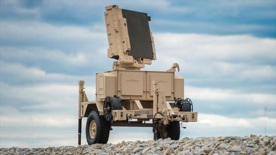 Un sistema de radar avanzado AN/MPQ-64 Sentinel.