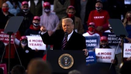 "Trump acusa a Rusia de robar información sobre su ""súper dúper"" misil"