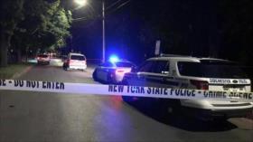 Tiroteo en EEUU deja al menos 2 muertos y 16 heridos