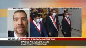 Davis: Perú vive una inestabilidad política severa