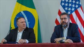 Cámara de Diputados de Brasil condena visita de Pompeo al país