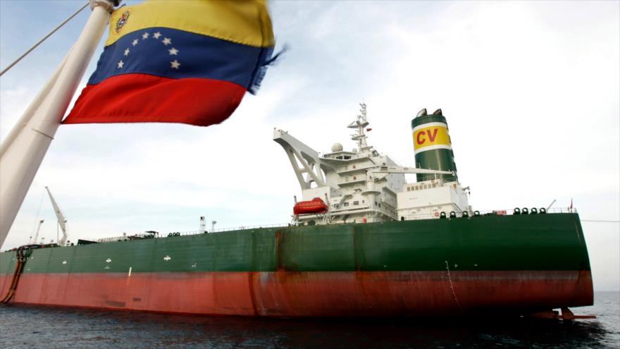 Superpetrolero venezolano Ayacucho que ya navega bajo la bandera rusa con el nombre de Maxim Gorky