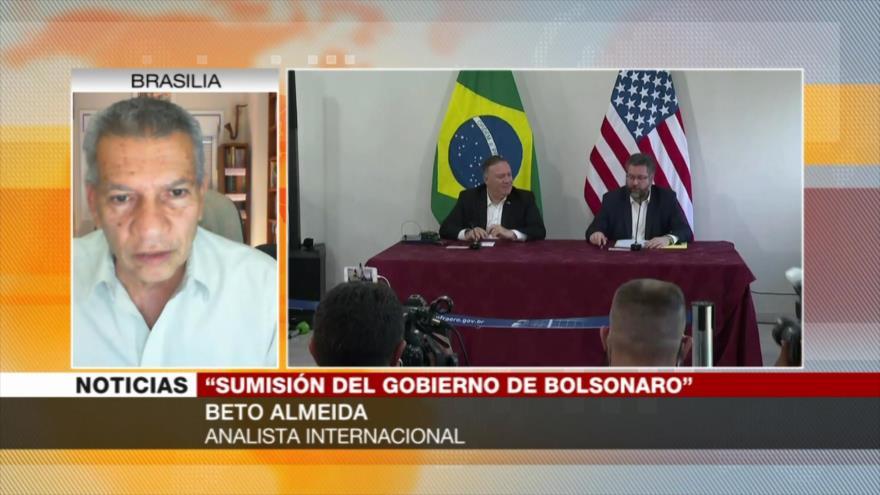 Almeida: Pompeo toca tambores de guerra entre Venezuela y Brasil | HISPANTV