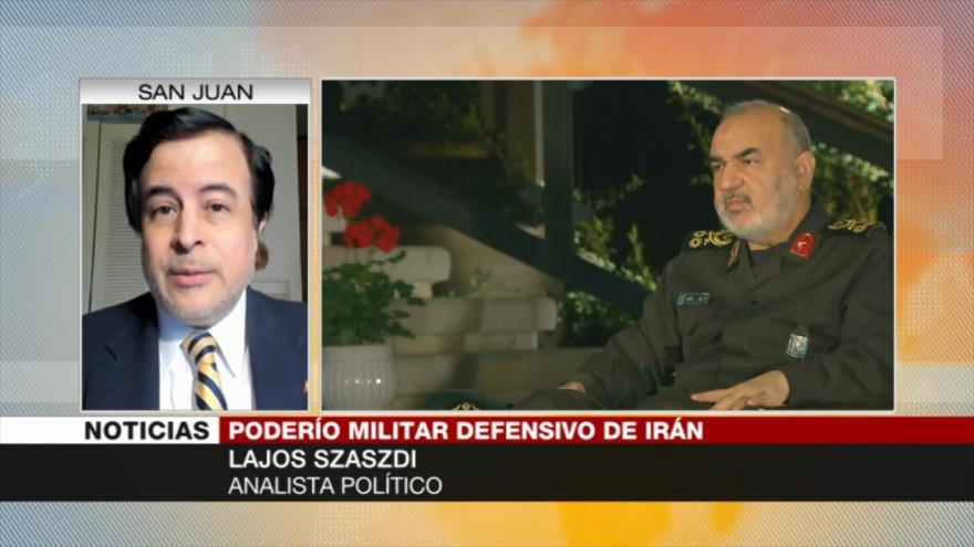 Szaszdi: Irán no busca la guerra, pero EEUU actúa como un agresor