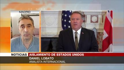 Lobato: EEUU está muy solo en su estrategia respecto a Irán