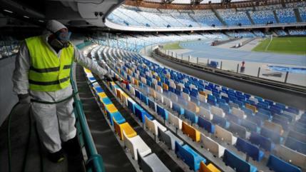 Italia reabre los estadios de fútbol al público pese a la pandemia