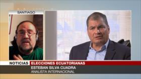 Silva Cuadra: Gobierno de Moreno cercena la democracia en Ecuador