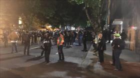 Retoman en EEUU protestas contra racismo tras pausa por incendios
