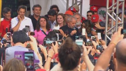 Lula apoyará a cualquier candidato progresista en los comicios