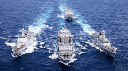 Irán, Rusia y China inician ejercicios militares a gran escala