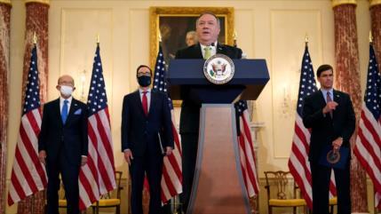 EEUU sanciona al Ministerio de Defensa de Irán y a Nicolás Maduro