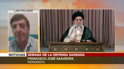 Saavedra: Irán salió fortalecido de la guerra impuesta por Irak