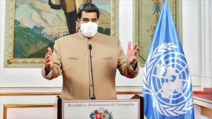 Maduro insta a ONU a luchar contra la hegemonía imperialista