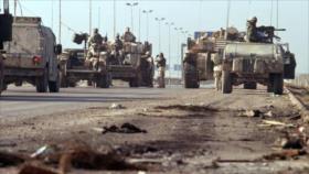 Atacan un convoy logístico de fuerzas de EEUU en el centro de Irak