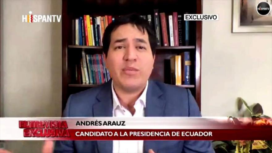 Arauz: Persecución política de Correa es una prioridad para Moreno