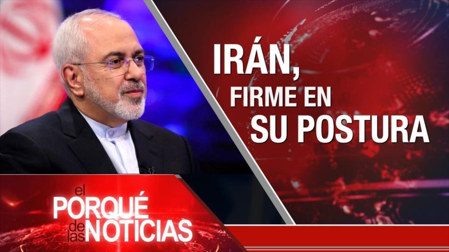 El Porqué de las Noticias: Postura de Irán. Decadencia de multilateralismo. Protestas en Colombia