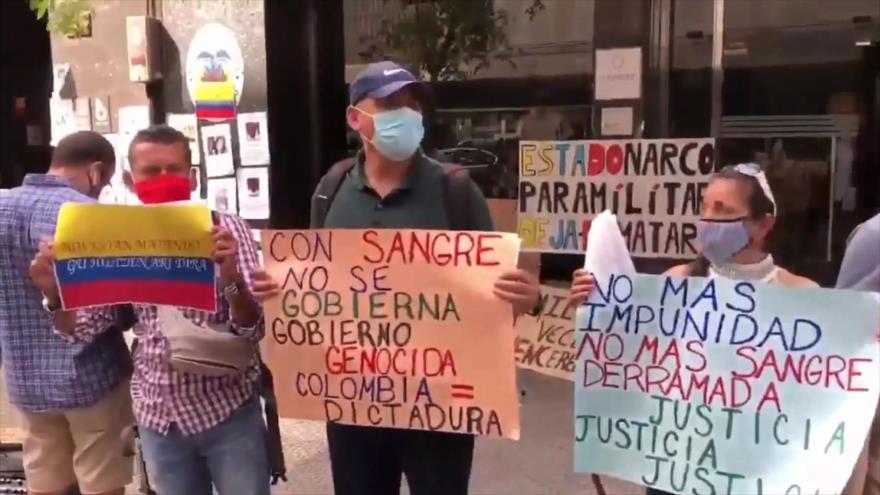 Colombianos vuelven a manifestarse contra brutalidad policial