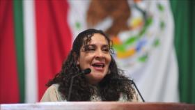 Vídeo: Diputada mexicana usa una fotografía suya en sesión virtual