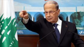 """Aoun alerta: El Líbano, sin gobierno, se dirige al """"infierno"""""""
