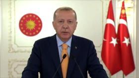 Erdogan: EEUU es cómplice de crímenes de Israel contra palestinos
