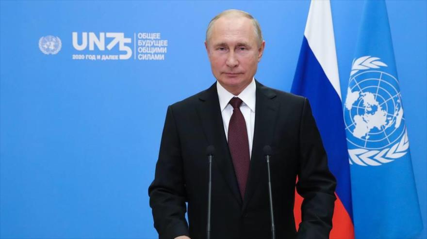 Putin: Unilateralismo podrá generar conflicto en la esfera global