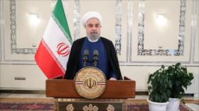 """Rohani denuncia """"sanciones crueles"""" de EEUU contra la nación iraní"""