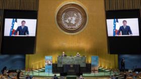 Macron: Los europeos no aceptarán las sanciones de EEUU contra Irán
