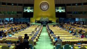 75.ª sesión de AGNU. Discurso de Rohani. Embargo de armas a Irán - Noticias Exprés: 19:30 - 22/09/2020