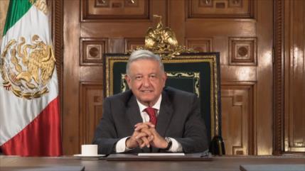 AMLO destaca su política de lucha contra la corrupción en México