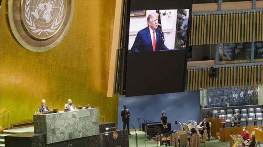 Tensiones entre EEUU y China marcan primer día de debate en la AGNU   HISPANTV