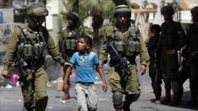 Soldados israelíes secuestran a dos niños en la Cisjordania ocupada