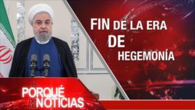 El Porqué de las Noticias: Irán; no a sanciones de EEUU. Tensión China-EEUU. Latinoamérica en AGNU