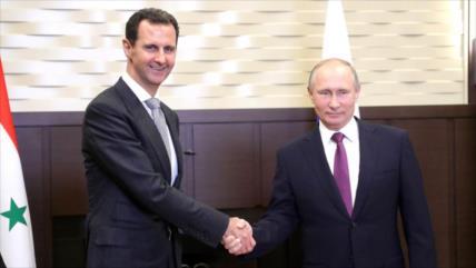 Siria y Rusia firman acuerdo sobre energía nuclear