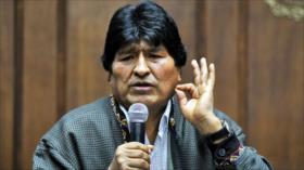 Evo Morales afirma que la renuncia de Áñez fue por orden de EEUU