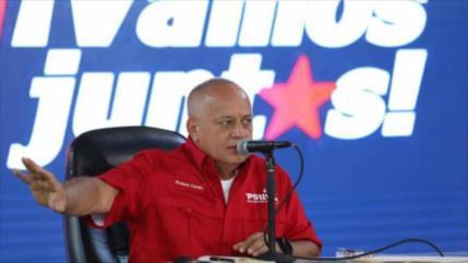 Cabello acusa a EEUU de planear violencia antes de elecciones