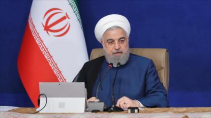 Rohani: EEUU fracasará ante Irán, tal como el exdictador Sadam