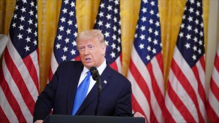 "Trump ataca a Biden y lo tacha de ""perro faldero"" de John McCain"