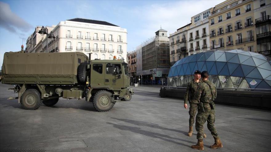 Crisis devora a Madrid: Piden intervención militar contra COVID-19
