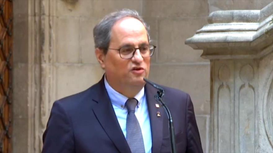 Independentista Torra se niega a declarar ante justicia española