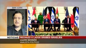 Szaszdi: Otros países árabes no se suman a normalización con Israel