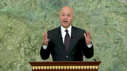 Presidente iraquí: Lucha contra el terrorismo aún no ha terminado