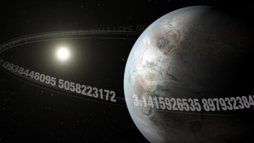 Representación artística del exoplaneta K2-315b, que tiene el mismo tamaño de la Tierra y tarda 3,14 días en dar una vuelta completa alrededor de su estrella.