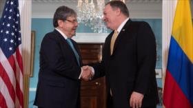 Denuncian al ministro de Defensa de Colombia por presencia de EEUU