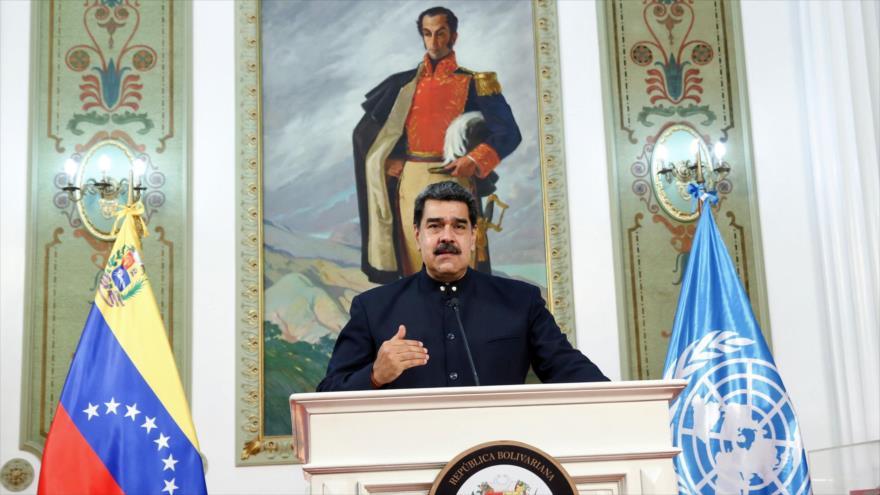 Maduro ante la ONU asevera que Venezuela vencerá bloqueo de EEUU | HISPANTV